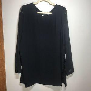 CHICO'S BLACK LABEL Tunic, Size 3